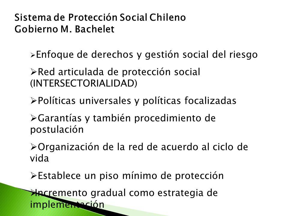 Sistema de Protección Social Chileno Gobierno M. Bachelet