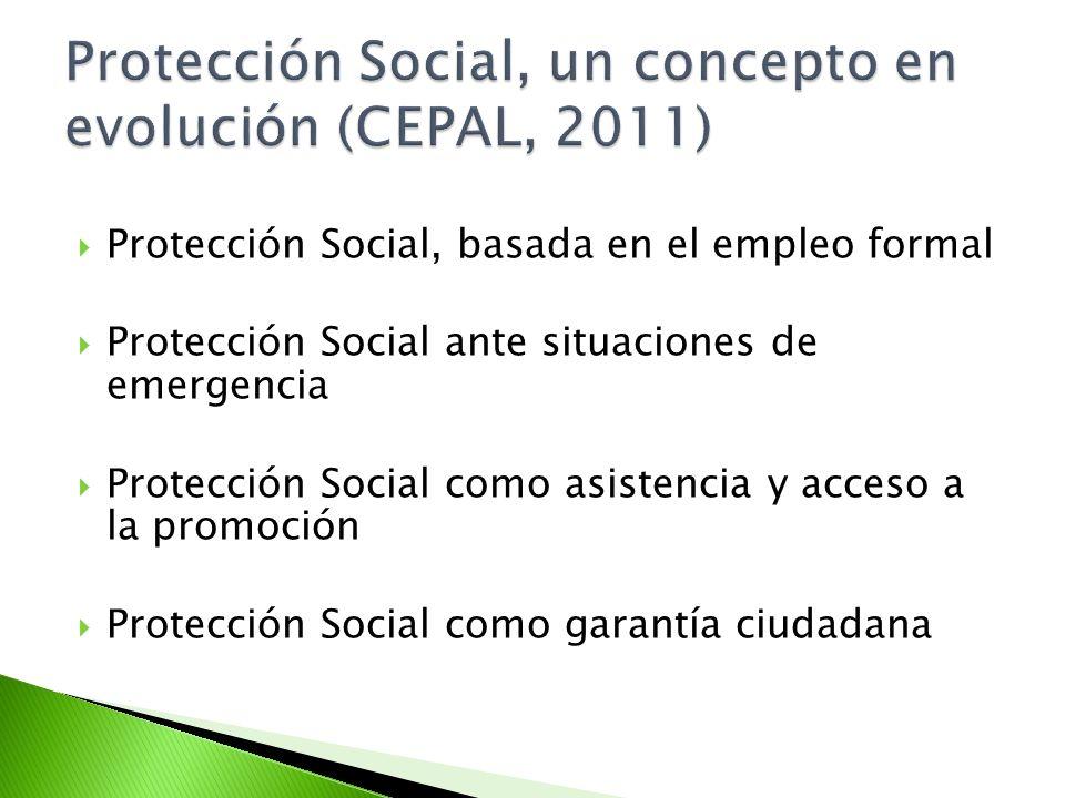 Protección Social, un concepto en evolución (CEPAL, 2011)