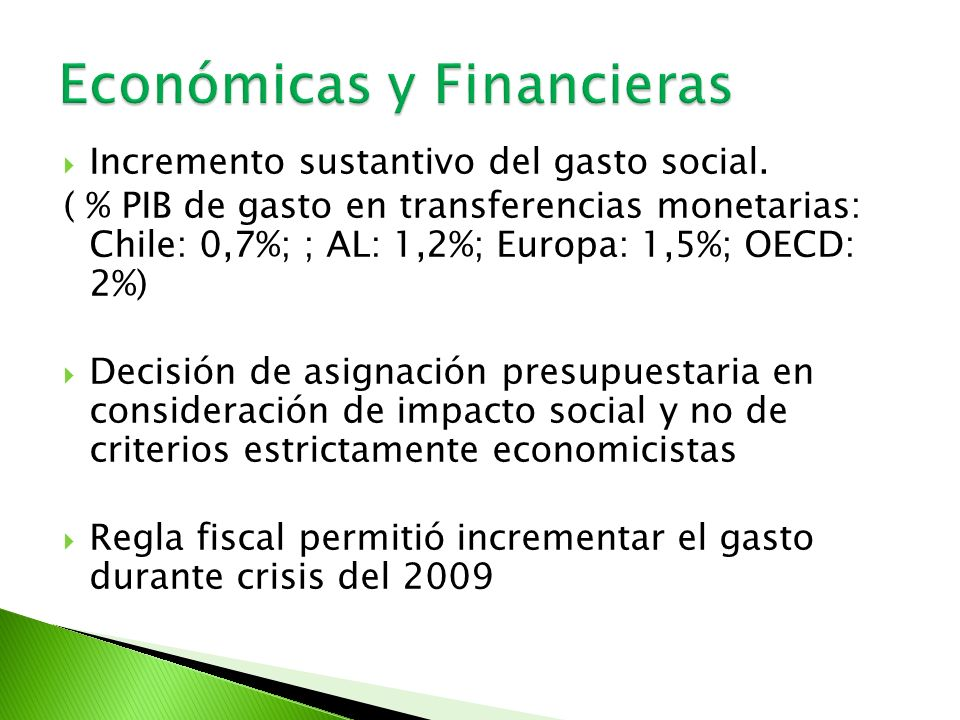 Económicas y Financieras