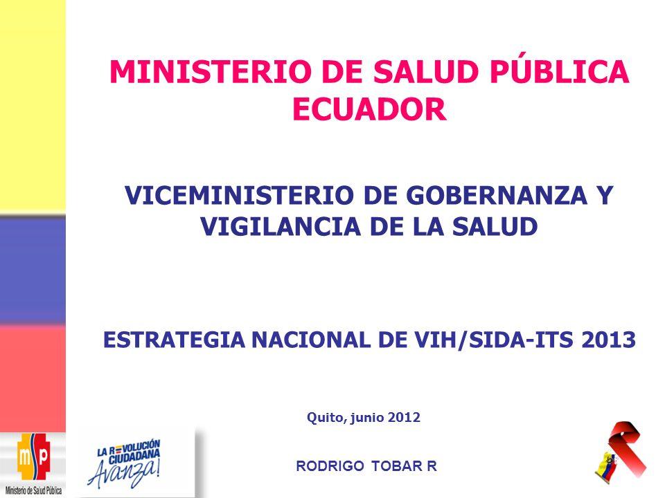 MINISTERIO DE SALUD PÚBLICA ECUADOR
