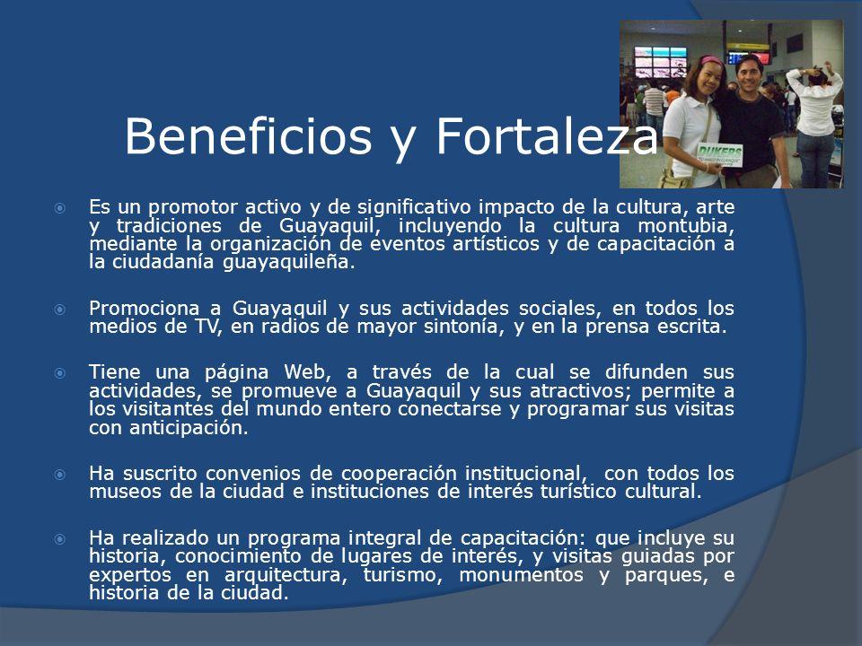 Beneficios y Fortaleza