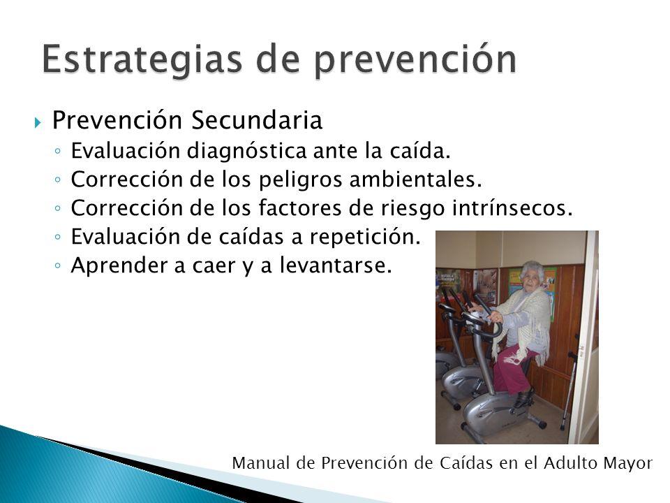 Estrategias de prevención