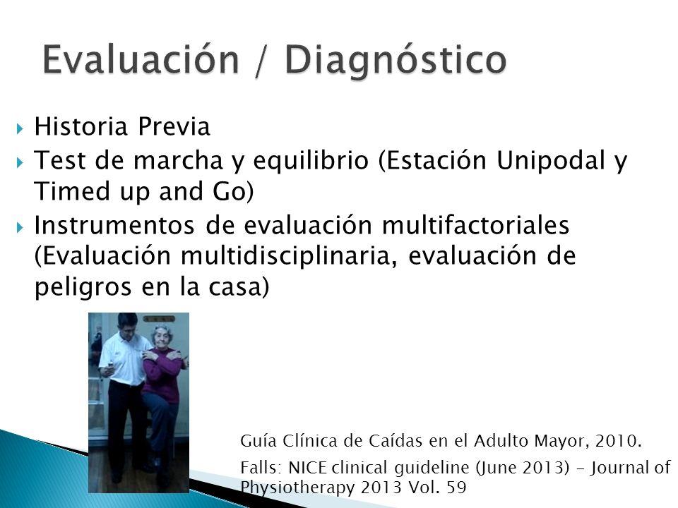 Evaluación / Diagnóstico