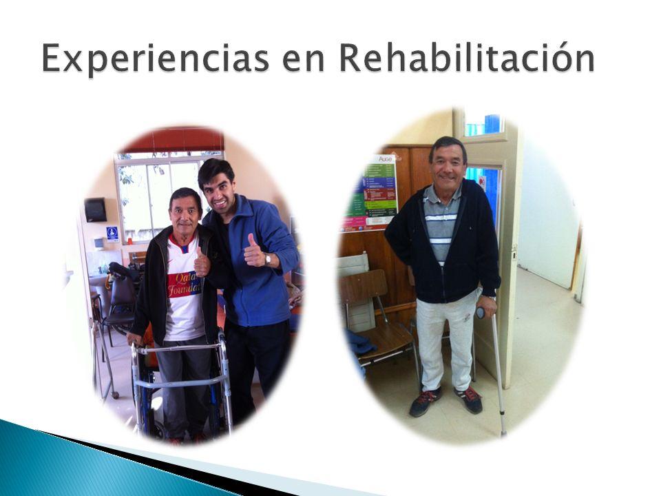 Experiencias en Rehabilitación