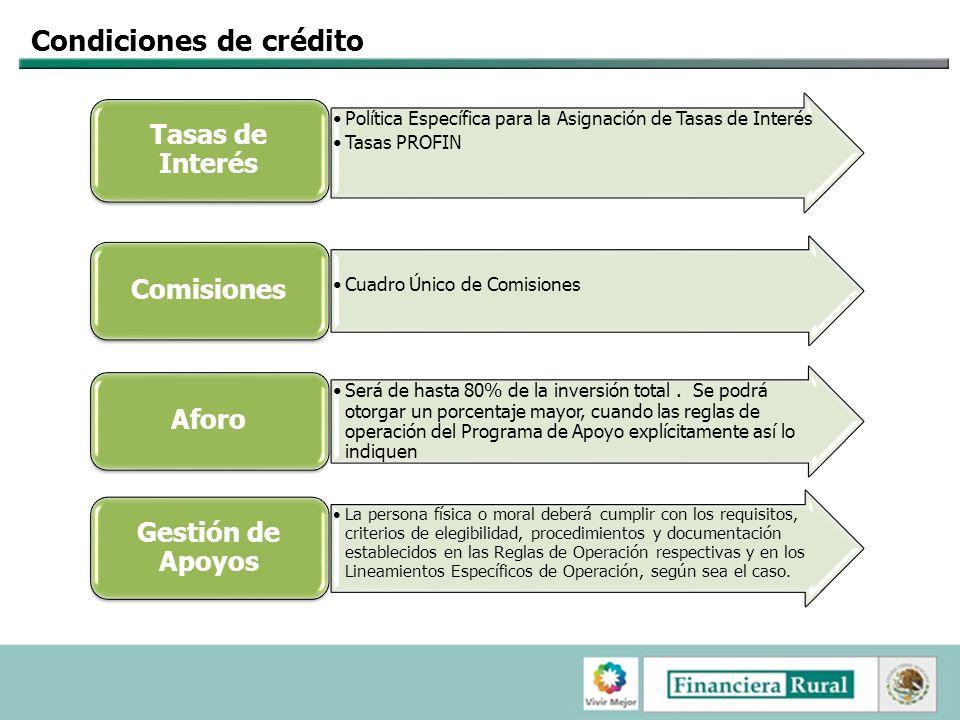 Condiciones de crédito