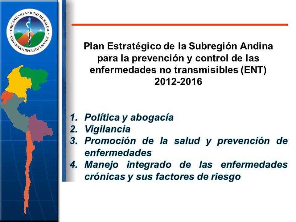 Plan Estratégico de la Subregión Andina