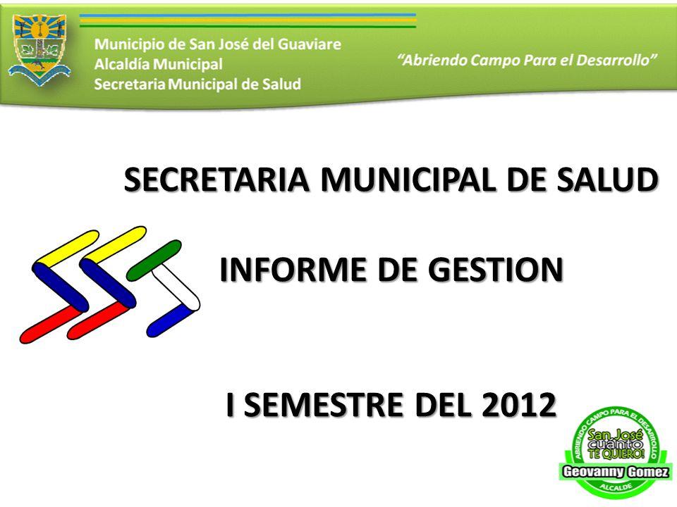 SECRETARIA MUNICIPAL DE SALUD