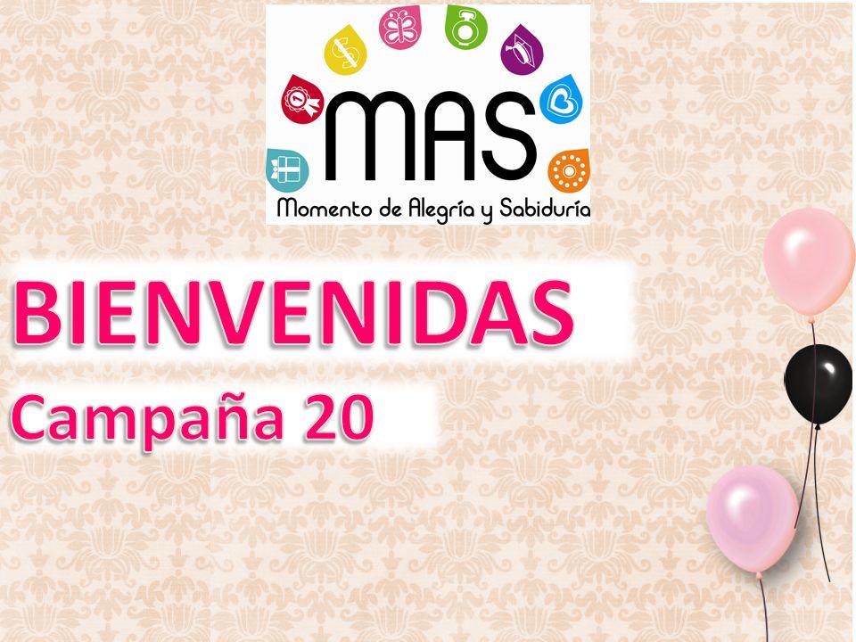 BIENVENIDAS Campaña 20