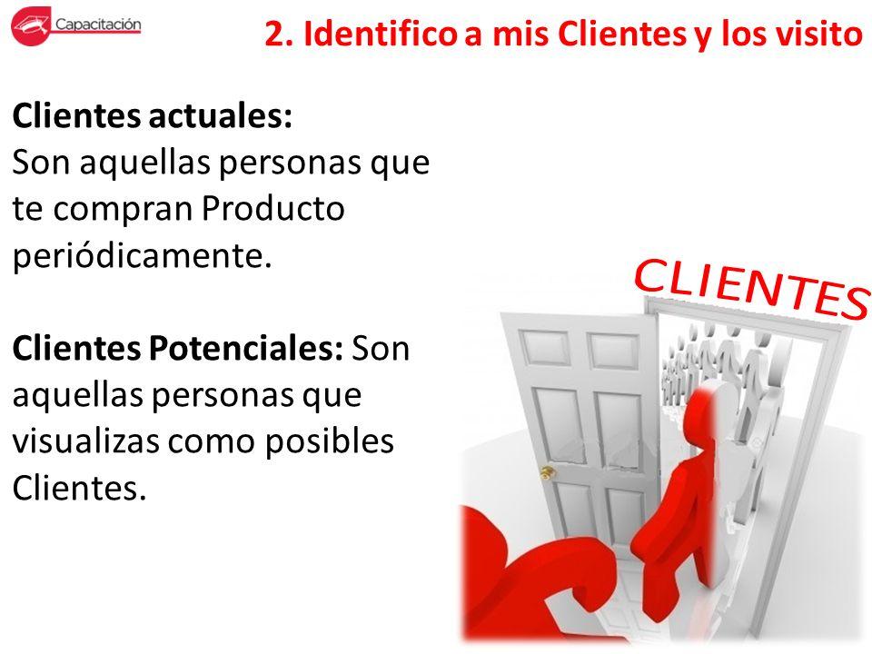 2. Identifico a mis Clientes y los visito