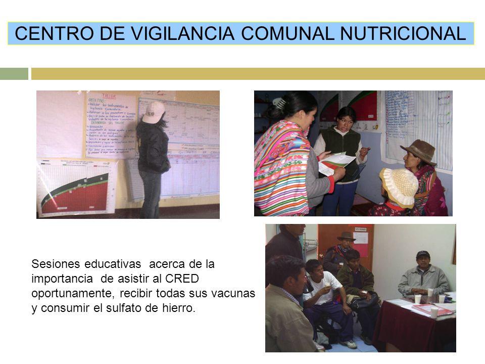 CENTRO DE VIGILANCIA COMUNAL NUTRICIONAL