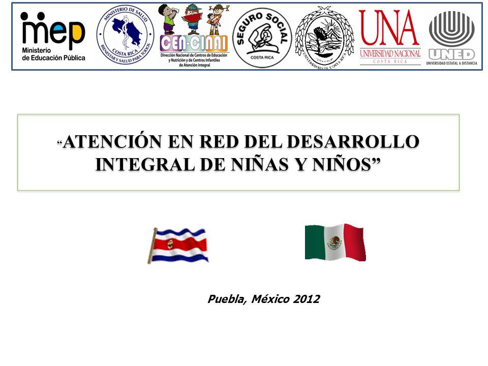 ATENCIÓN EN RED DEL DESARROLLO INTEGRAL DE NIÑAS Y NIÑOS