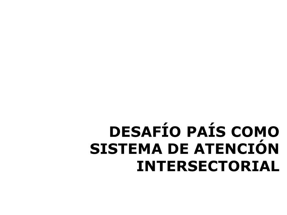 DESAFÍO PAÍS COMO SISTEMA DE ATENCIÓN INTERSECTORIAL