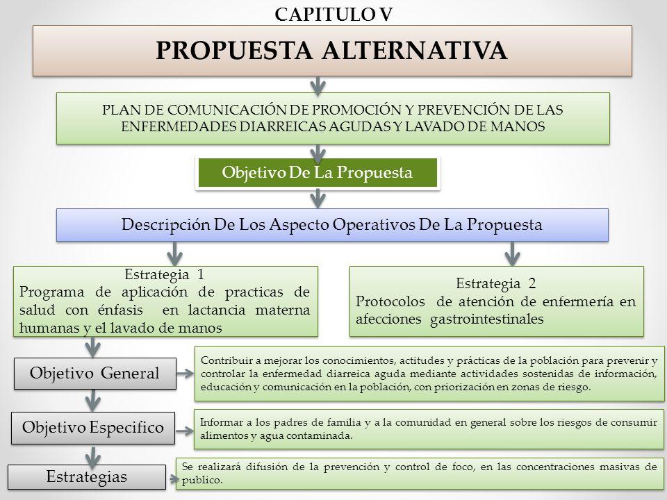 PROPUESTA ALTERNATIVA ENFERMEDADES DIARREICAS AGUDAS Y LAVADO DE MANOS