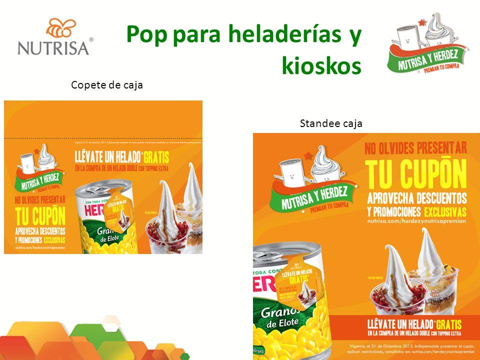 Pop para heladerías y kioskos