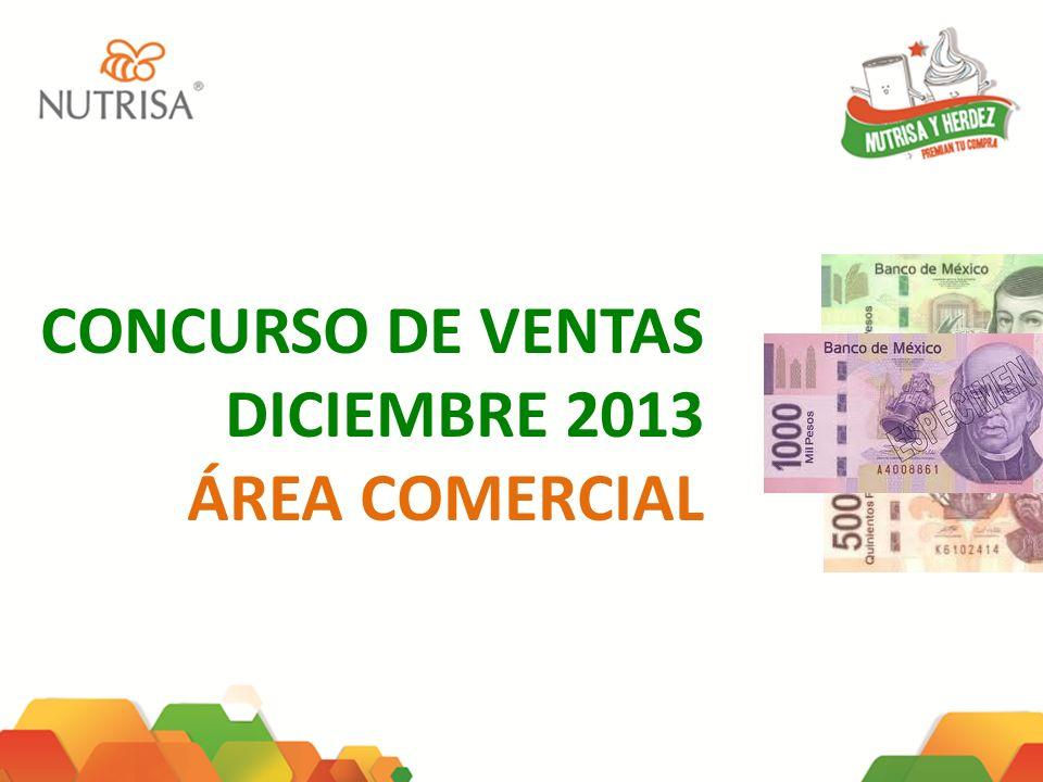 CONCURSO DE VENTAS DICIEMBRE 2013