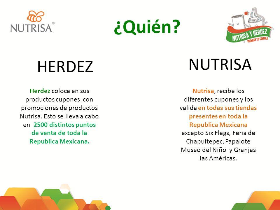 ¿Quién NUTRISA. HERDEZ.