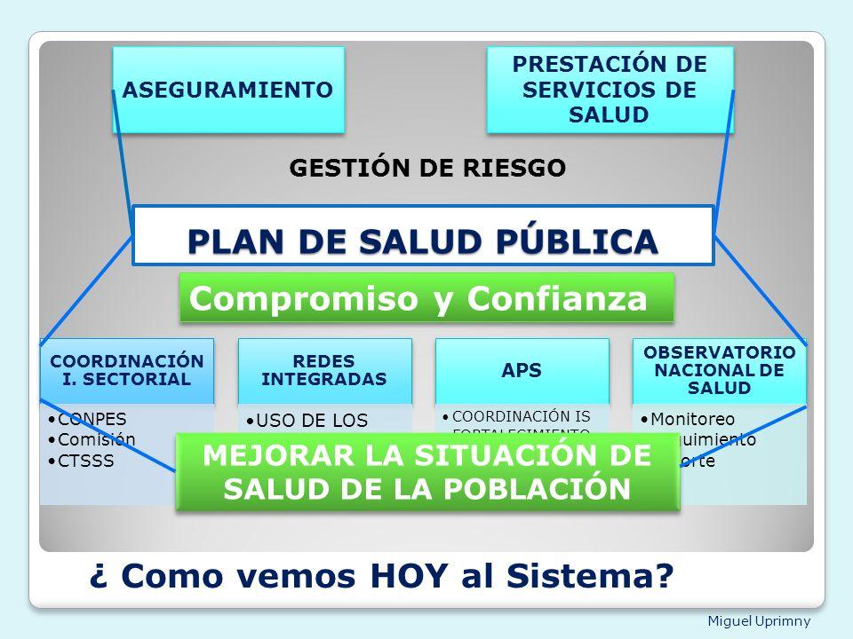 PRESTACIÓN DE SERVICIOS DE SALUD