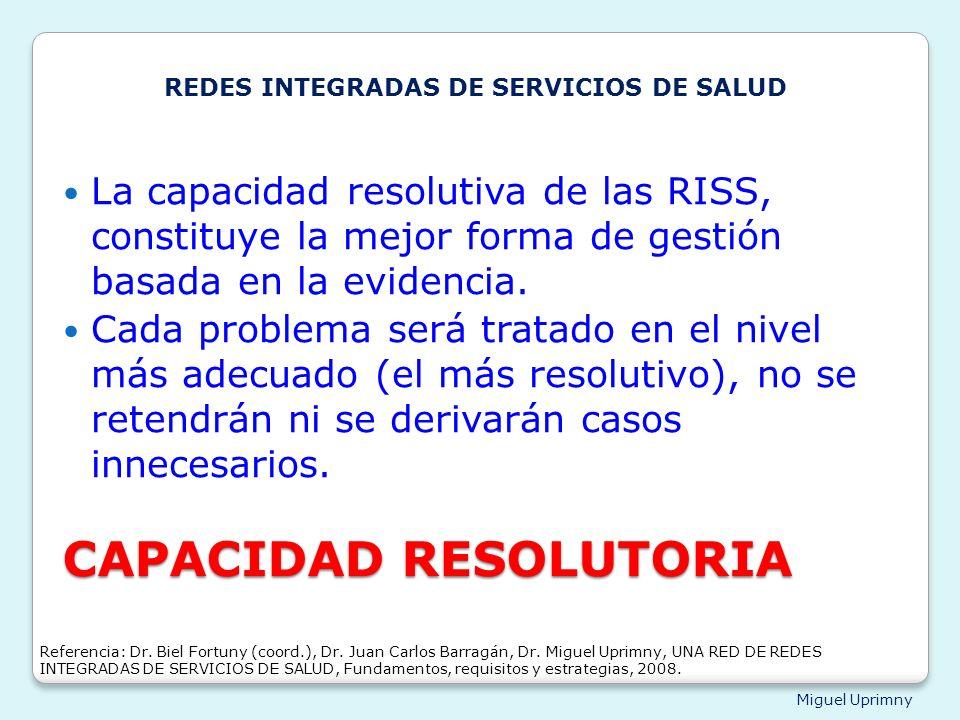 CAPACIDAD RESOLUTORIA