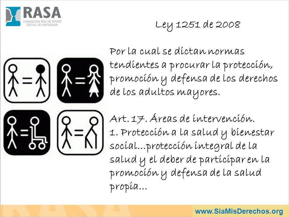 Art. 17. Áreas de intervención.