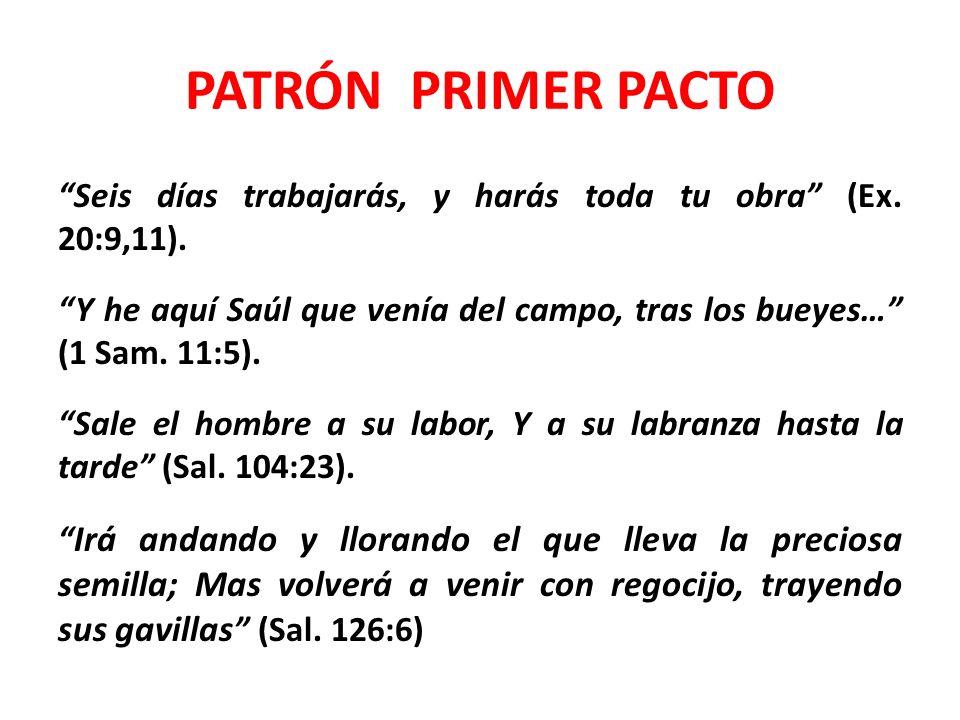 PATRÓN PRIMER PACTO