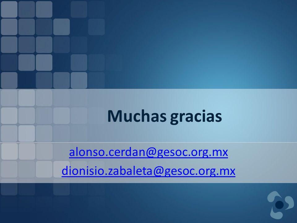 alonso.cerdan@gesoc.org.mx dionisio.zabaleta@gesoc.org.mx