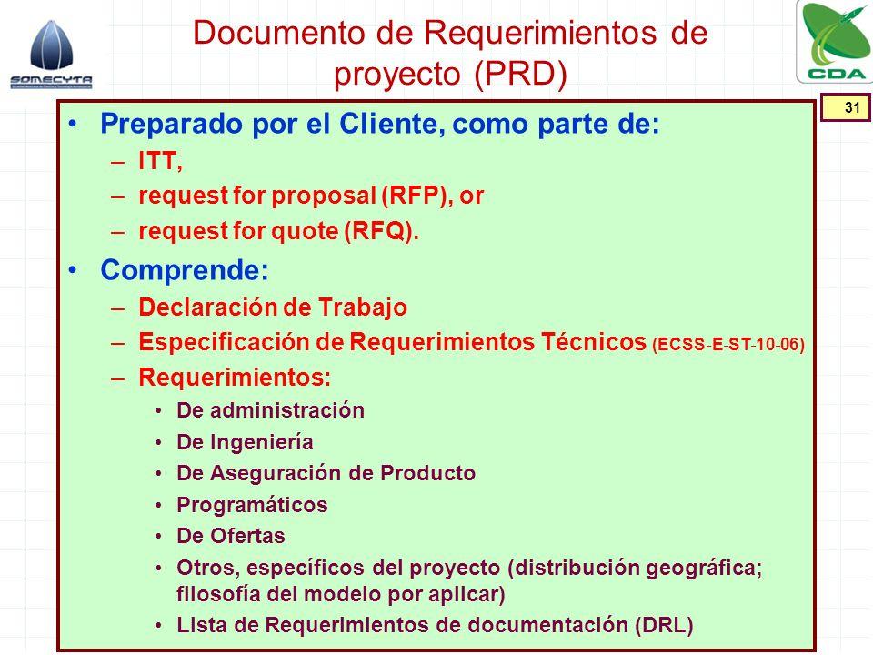 Documento de Requerimientos de proyecto (PRD)