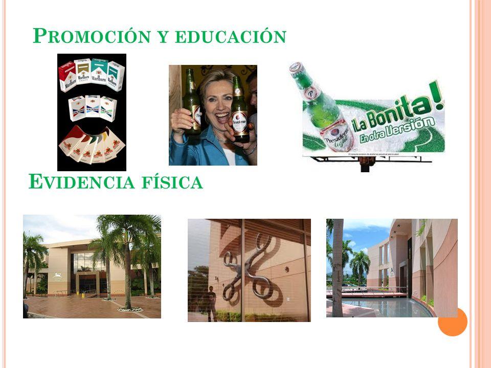Promoción y educación Evidencia física