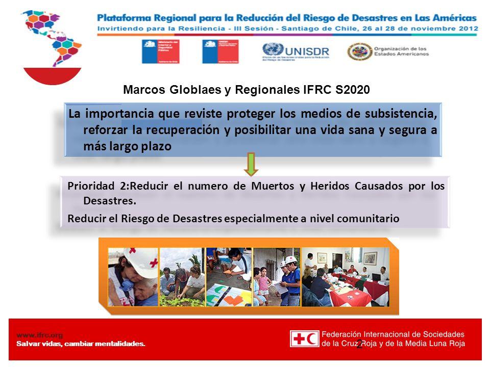 Marcos Globlaes y Regionales IFRC S2020