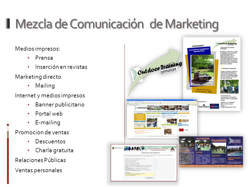 Mezcla de Comunicación de Marketing