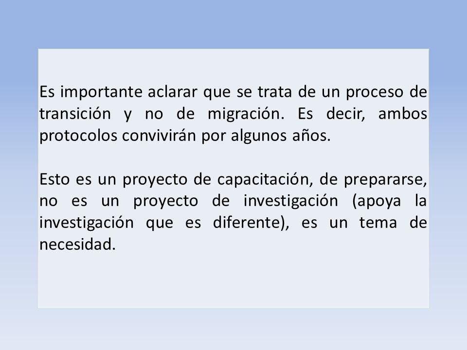 Es importante aclarar que se trata de un proceso de transición y no de migración. Es decir, ambos protocolos convivirán por algunos años.