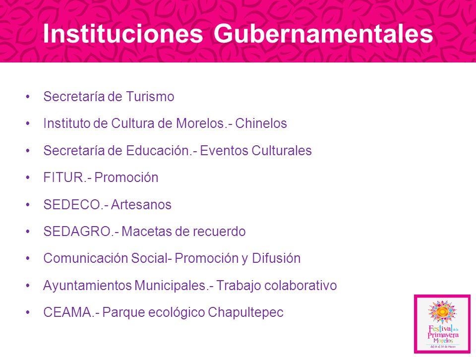 Instituciones Gubernamentales