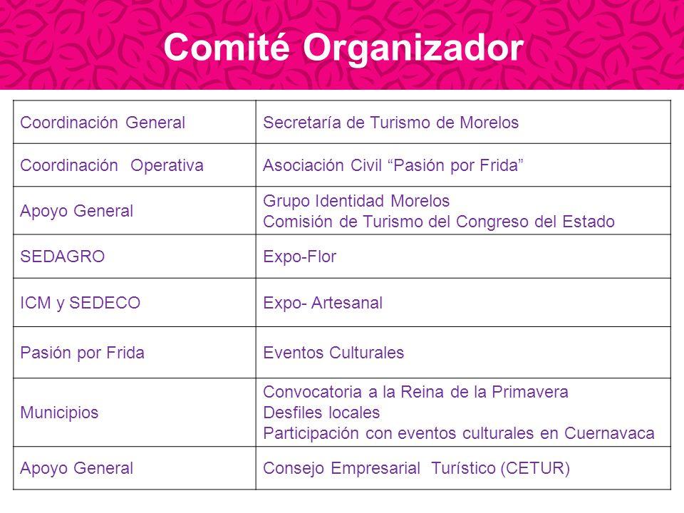 Comité Organizador Coordinación General