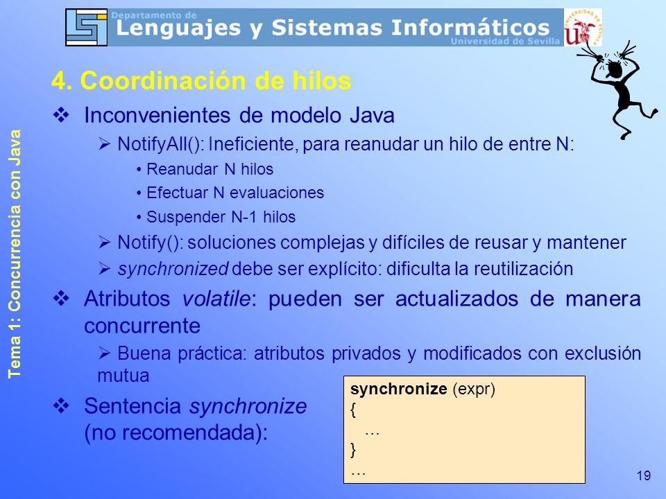 Tema 1: Concurrencia con Java - ppt descargar