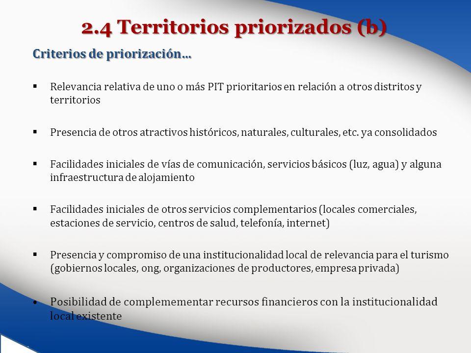 2.4 Territorios priorizados (b)