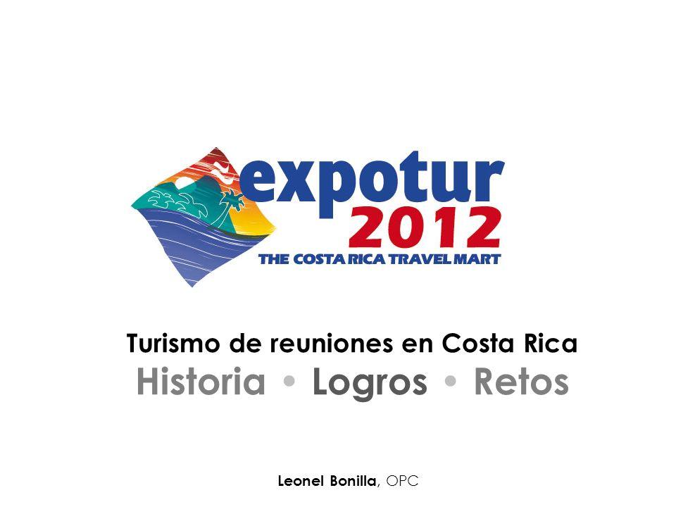 Turismo de reuniones en Costa Rica Historia • Logros • Retos