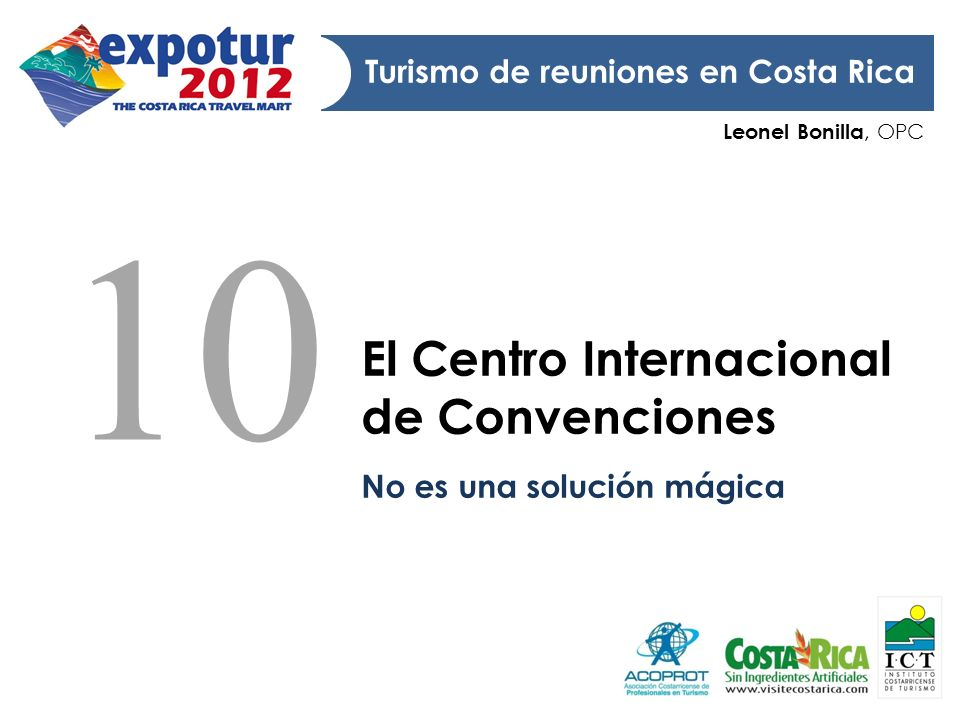 10 El Centro Internacional de Convenciones