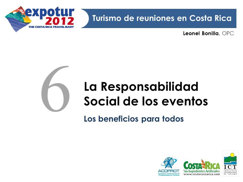 6 La Responsabilidad Social de los eventos