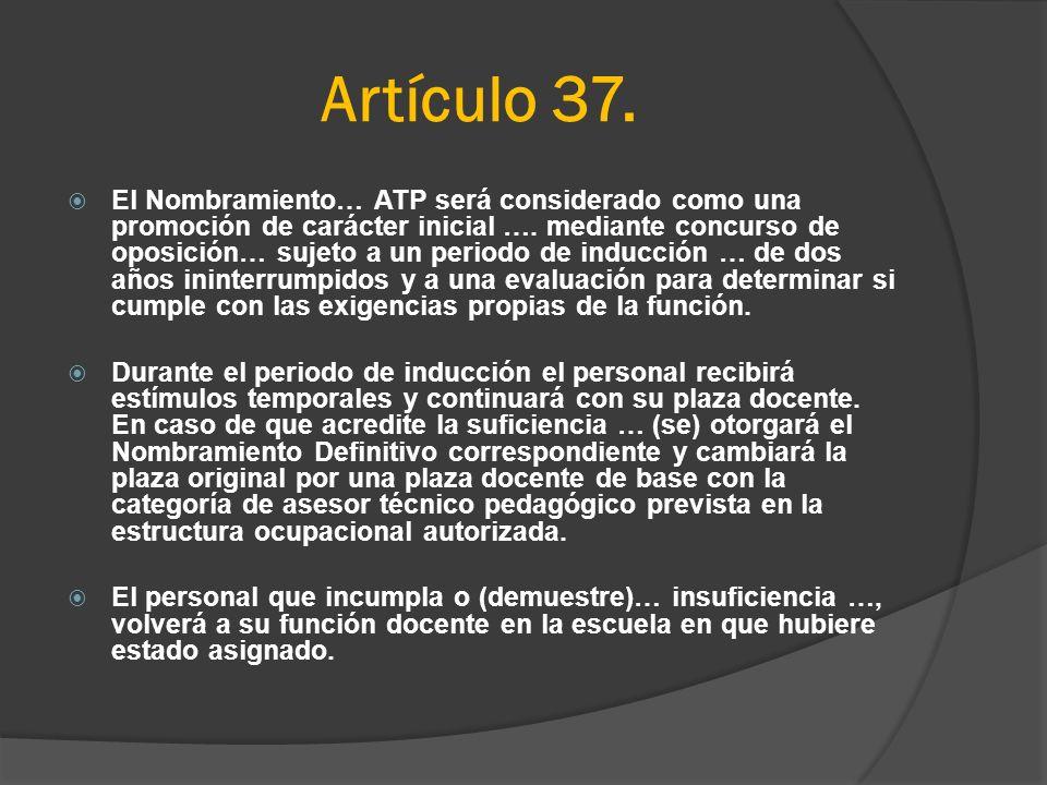 Artículo 37.