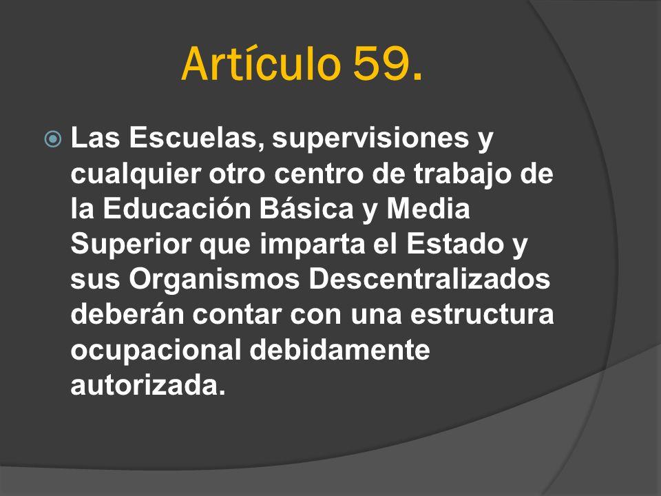 Artículo 59.