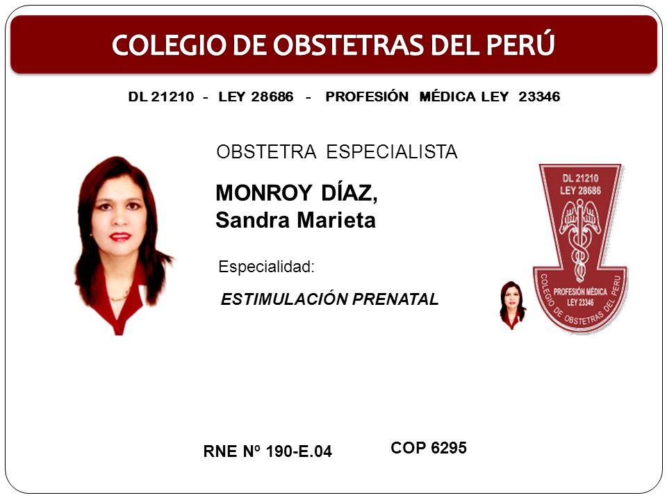 DL 21210 - LEY 28686 - PROFESIÓN MÉDICA LEY 23346