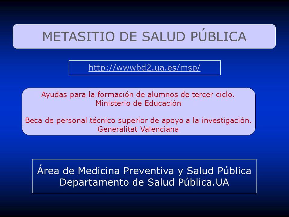METASITIO DE SALUD PÚBLICA