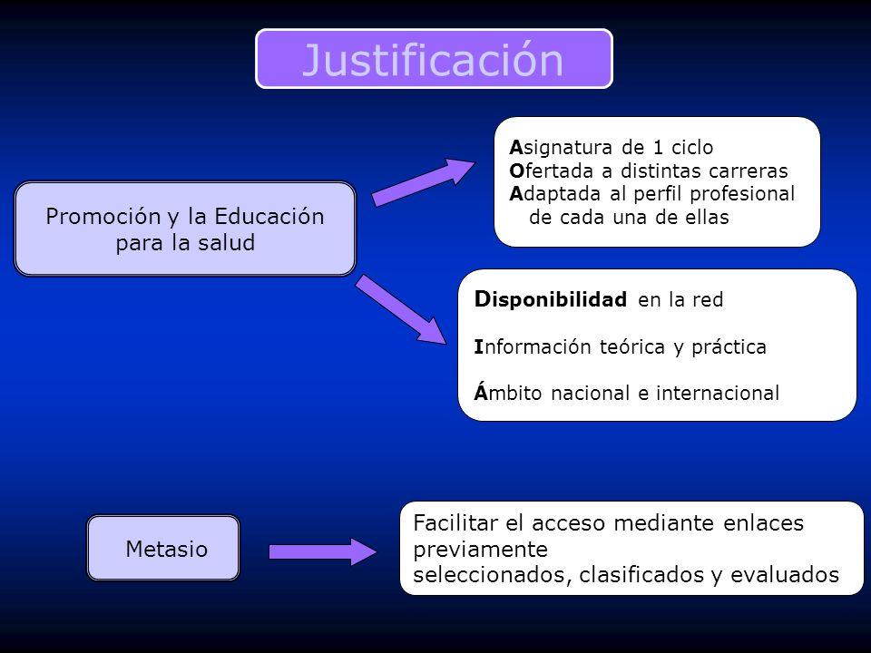 Promoción y la Educación para la salud