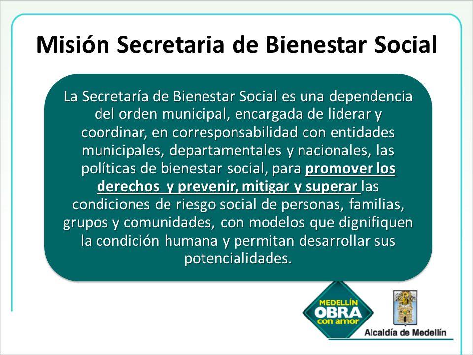 Misión Secretaria de Bienestar Social