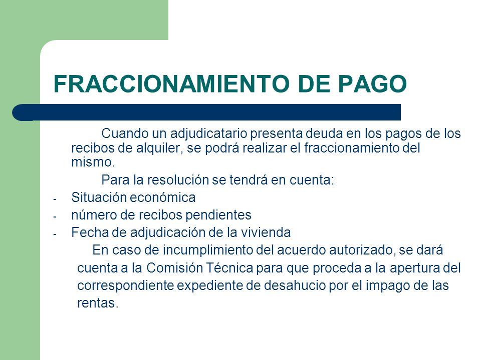 FRACCIONAMIENTO DE PAGO