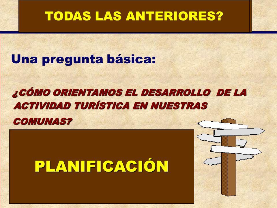 PLANIFICACIÓN ¿QUO VADIS TURISMO TERMAL TODAS LAS ANTERIORES