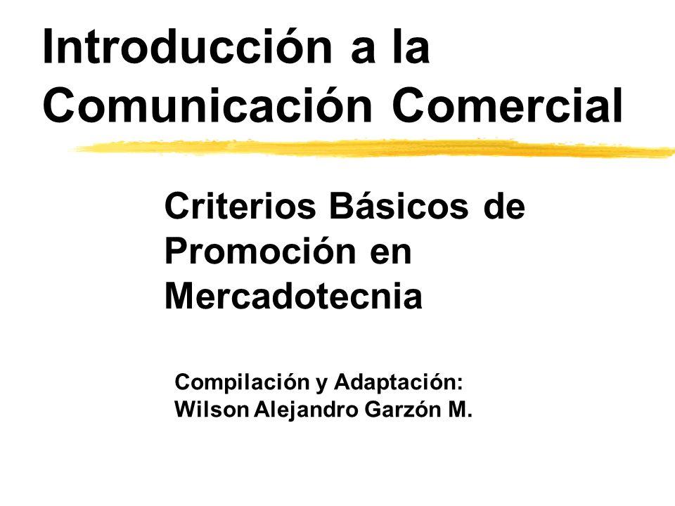 Introducción a la Comunicación Comercial