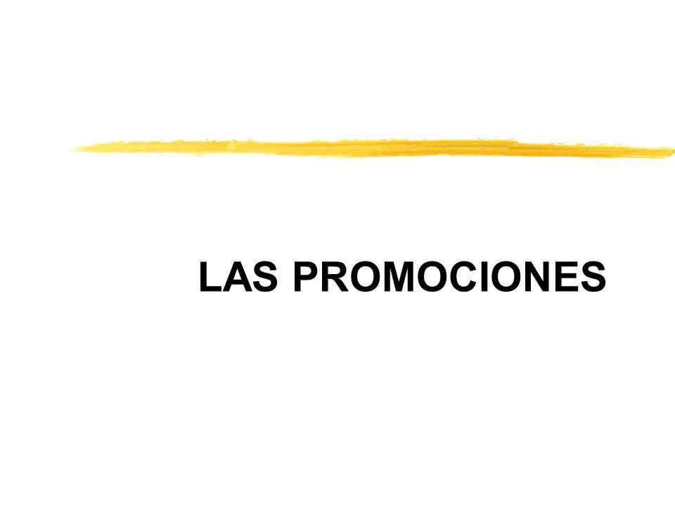 LAS PROMOCIONES