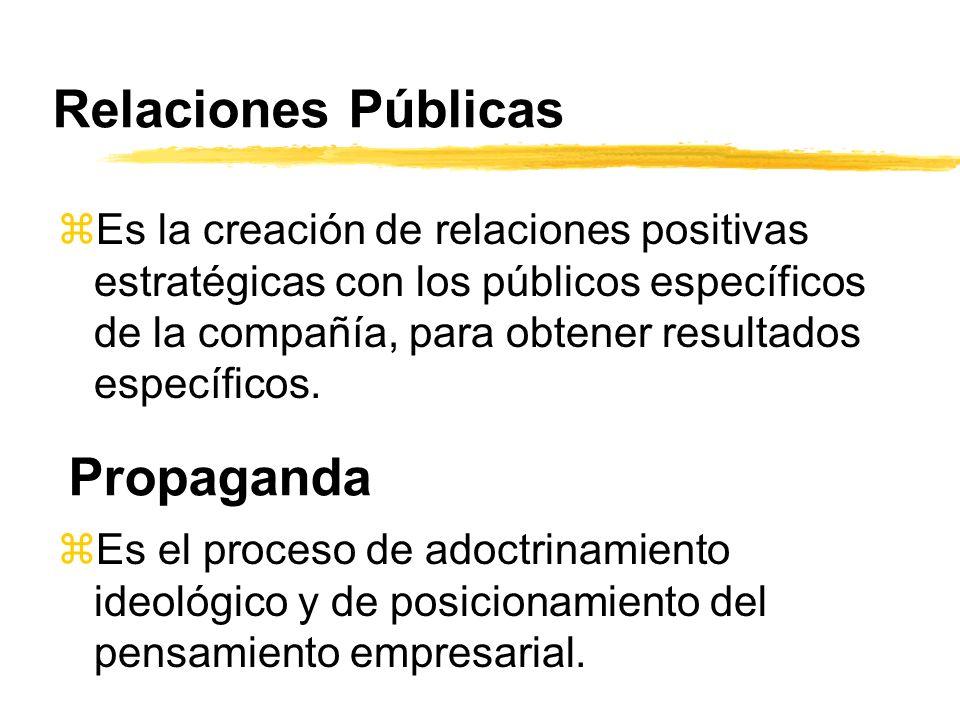 Relaciones Públicas Propaganda