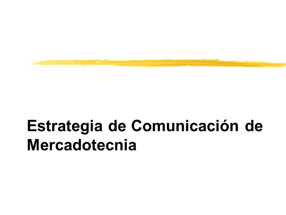 Estrategia de Comunicación de Mercadotecnia