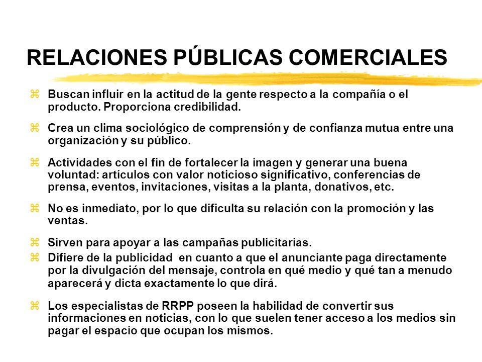 RELACIONES PÚBLICAS COMERCIALES